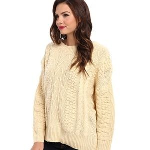 Minkpink Word Play Chunky Sweater